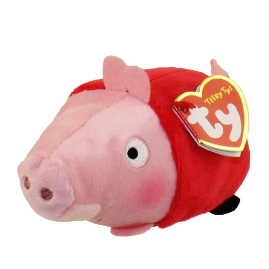 671cbc2a93c TY Beanie Boos - Teeny Tys Stackable Plush - Peppa Pig - PEPPA PIG (4  inch)  BBToyStore.com - Toys