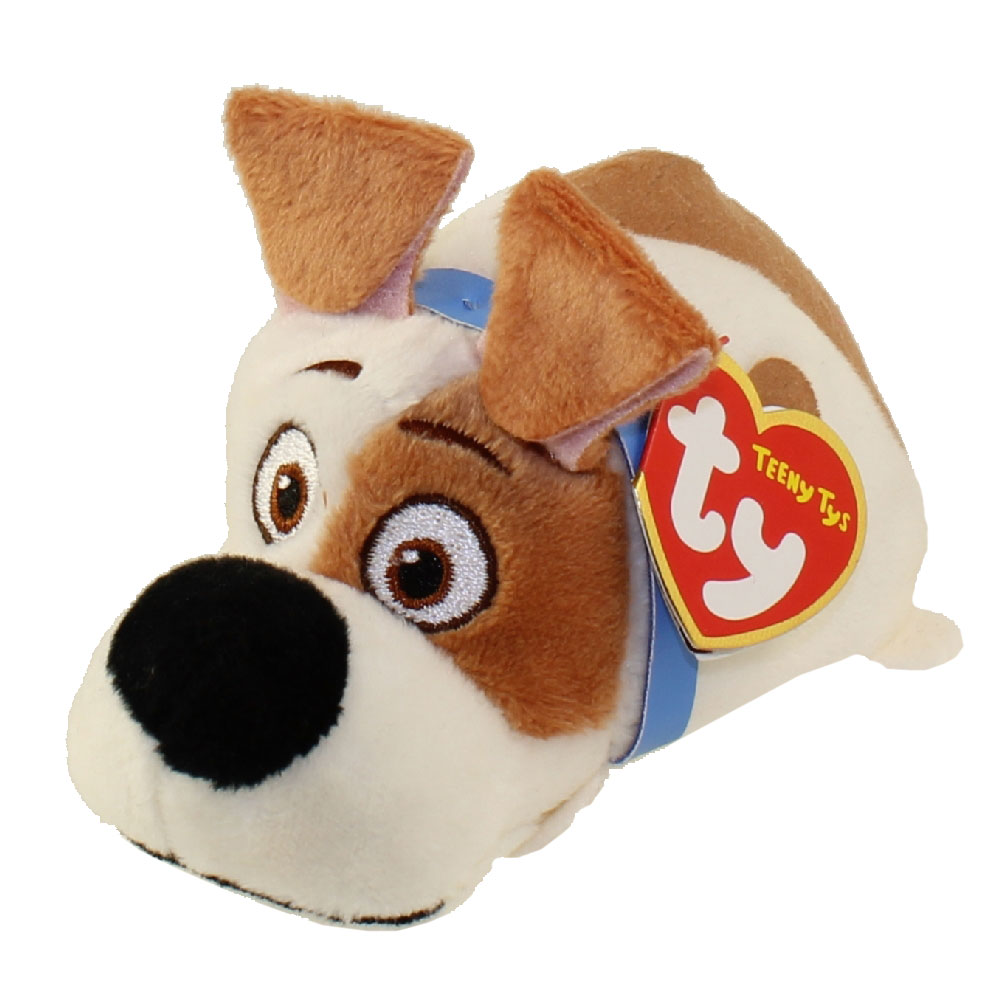 TY Beanie Boos - Teeny Tys Stackable Plush - Secret Life of Pets - MAX (4  inch)  BBToyStore.com - Toys a086072f1b8