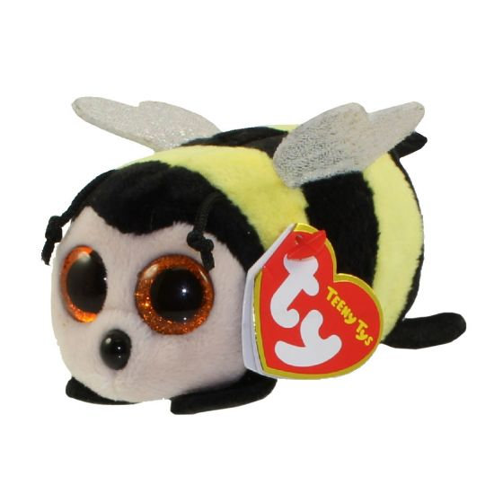 TY Beanie Boos - Teeny Tys Stackable Plush - ZINGER the Bee (4 inch)   BBToyStore.com - Toys fda687bb358