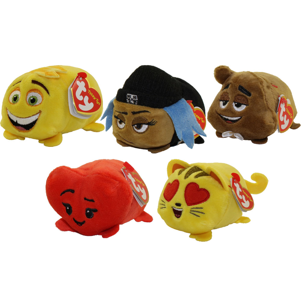 Ty beanie boos teeny tys stackable plush emoji movie for Bb shop