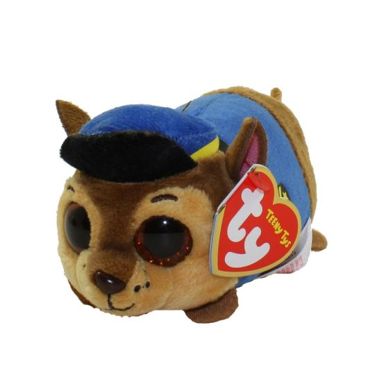TY Beanie Boos - Teeny Tys Stackable Plush - Paw Patrol - CHASE (4 inch)   BBToyStore.com - Toys b3661780cbb