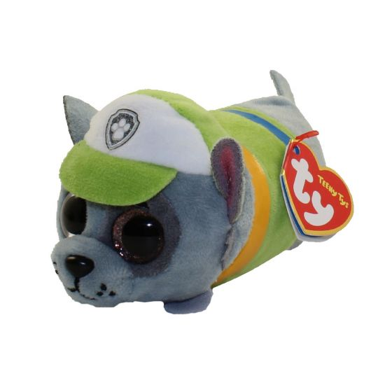 TY Beanie Boos - Teeny Tys Stackable Plush - Paw Patrol - ROCKY (4 inch)   BBToyStore.com - Toys c12a98807d7