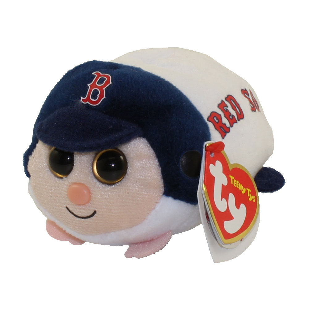 TY Beanie Boos - Teeny Tys Stackable Plush - MLB - BOSTON RED SOX