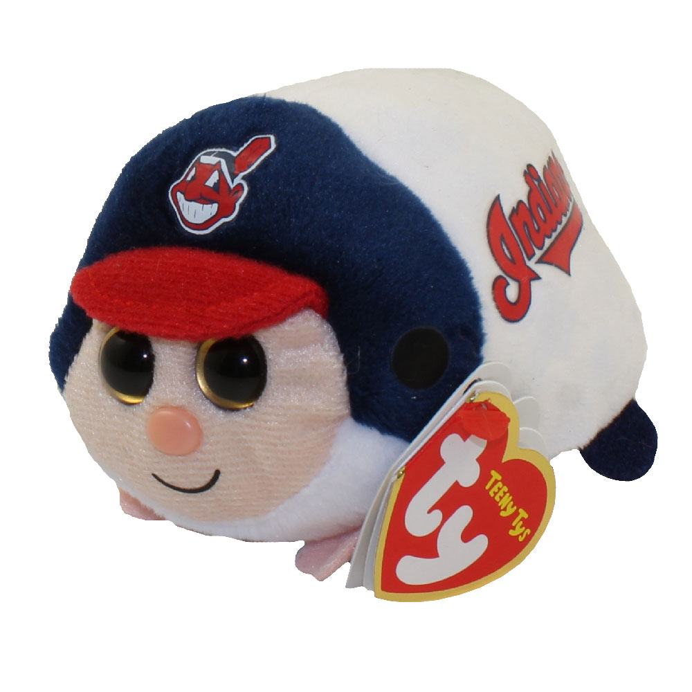 TY Beanie Boos - Teeny Tys Stackable Plush - MLB - CLEVELAND INDIANS