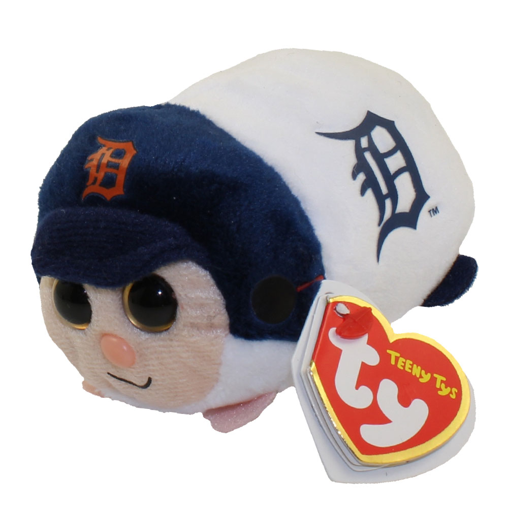 TY Beanie Boos - Teeny Tys Stackable Plush - MLB - DETROIT TIGERS