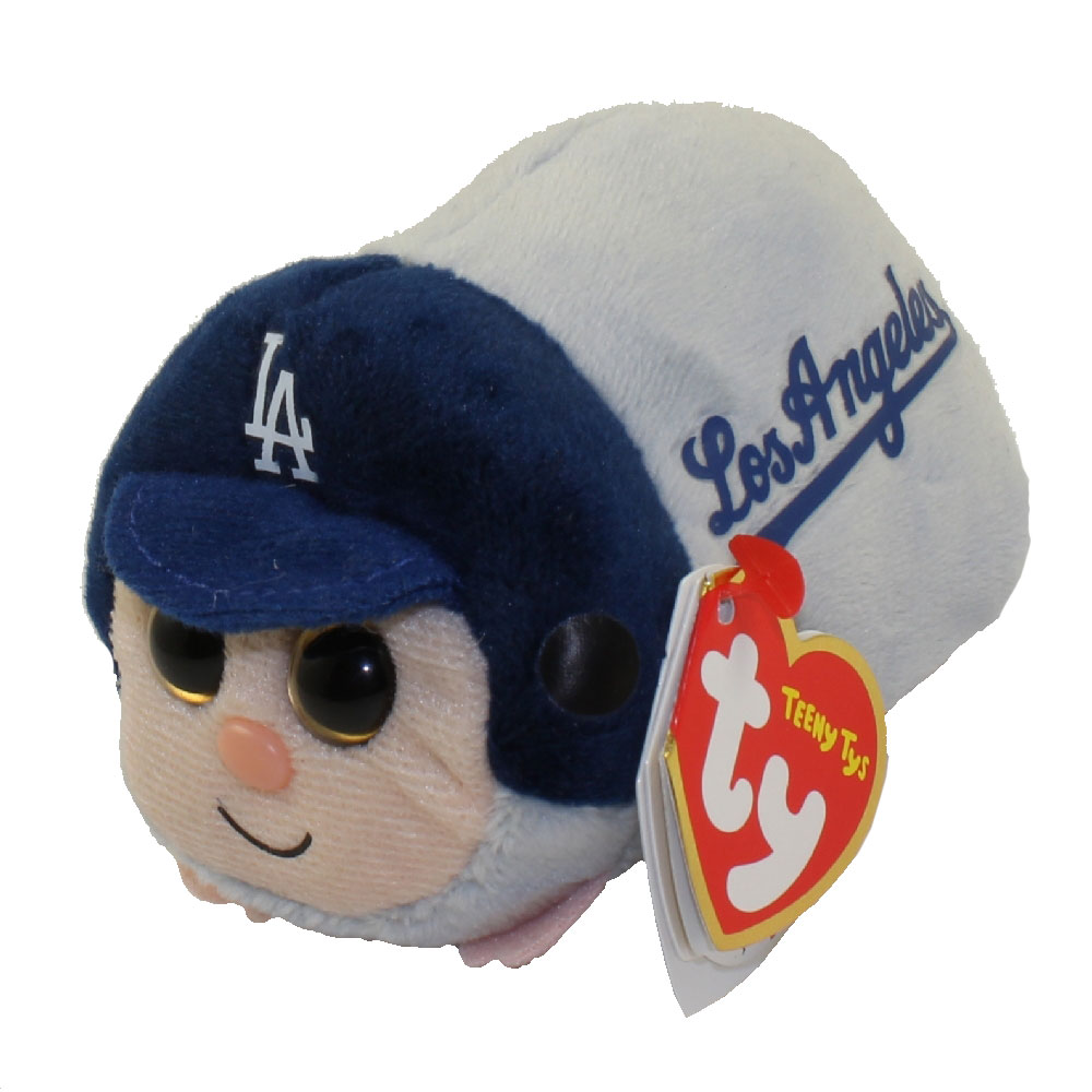 TY Beanie Boos - Teeny Tys Stackable Plush - MLB - LOS ANGELES DODGERS