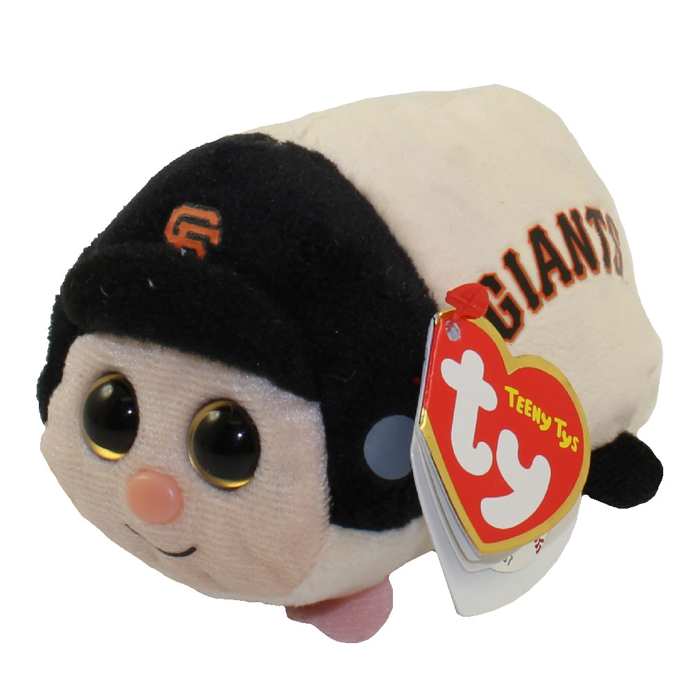 TY Beanie Boos - Teeny Tys Stackable Plush - MLB - SAN FRANCISCO GIANTS