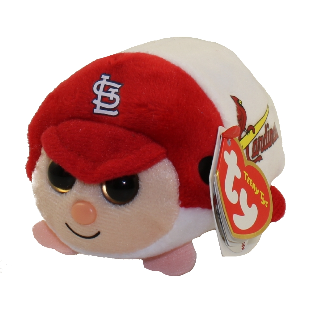 TY Beanie Boos - Teeny Tys Stackable Plush - MLB - ST LOUIS CARDINALS