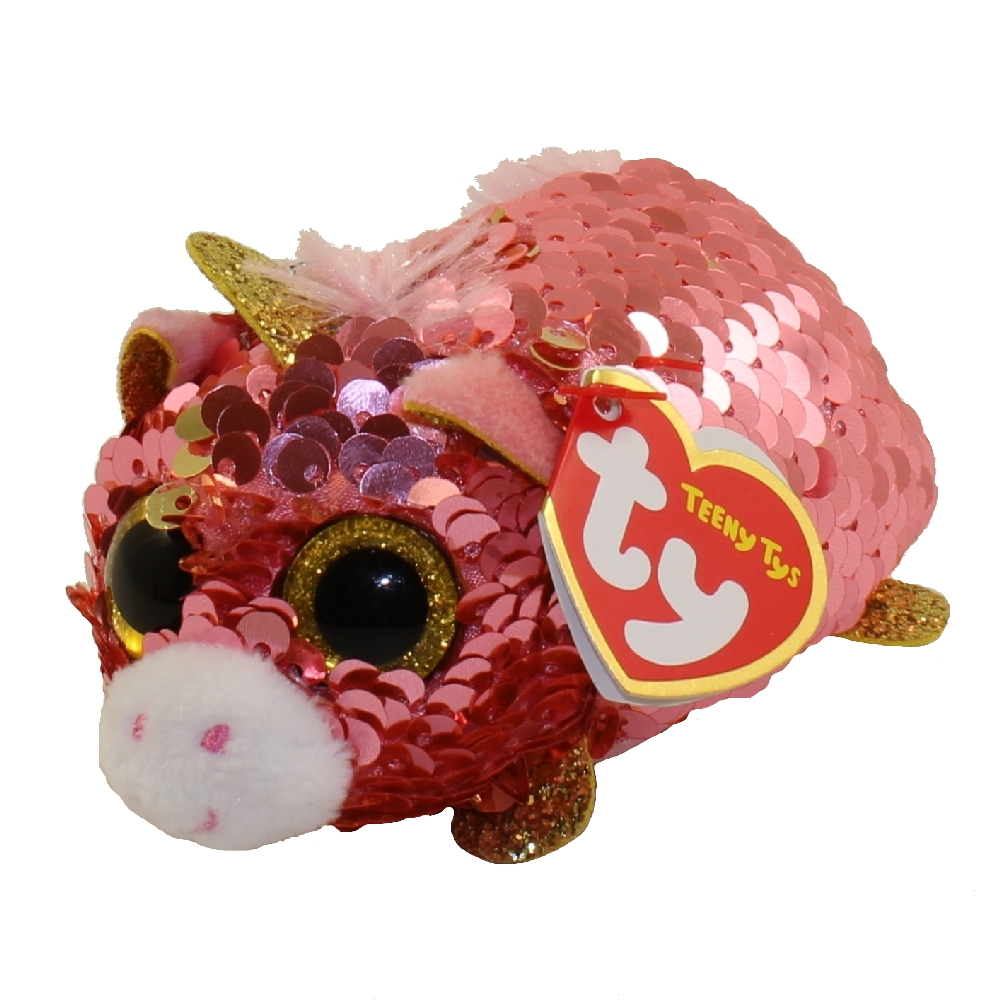 Ty beanie boos teeny tys stackable sequin plush sunset for Bb shop