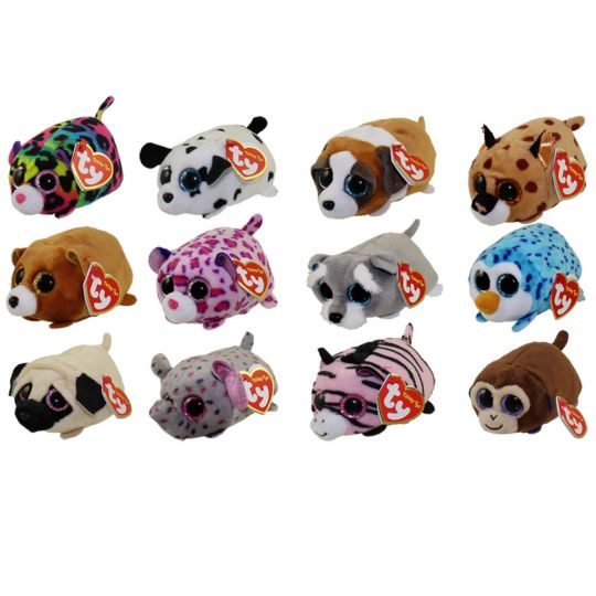 df2baf6251a TY Beanie Boos - Teeny Tys Stackable Plush - Series 2 - SET of 12 (4 inch)   BBToyStore.com - Toys