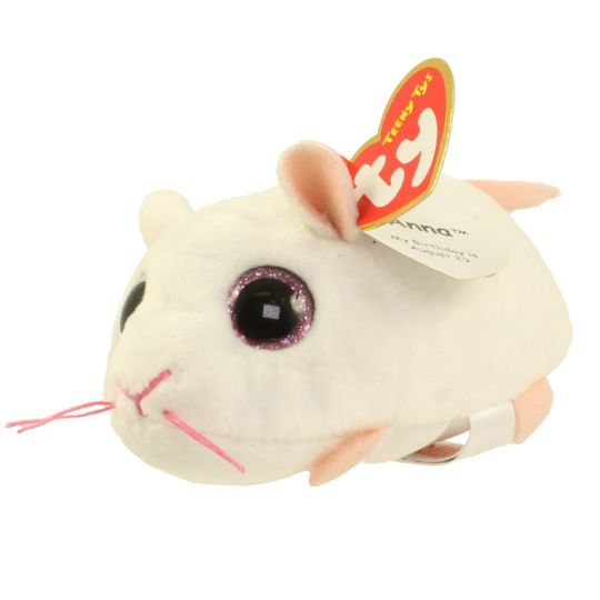 """Ty Teeny Tys 4/"""" Anna the Mouse Plush"""