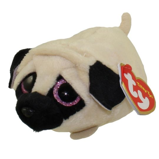 TY Beanie Boos - Teeny Tys Stackable Plush - CANDY the Pug (4 inch)   BBToyStore.com - Toys 6ac21521441