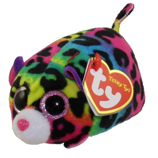 25fc380f9a1 TY Beanie Boos - Teeny Tys Stackable Plush - JELLY the Leopard (4 inch)   BBToyStore.com - Toys