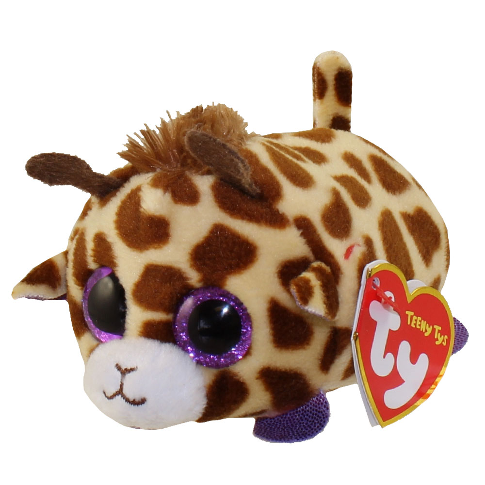 Ty Beanie Boos Teeny Tys Stackable Plush Mabs The Giraffe 4 Inch Bbtoystore Com Toys