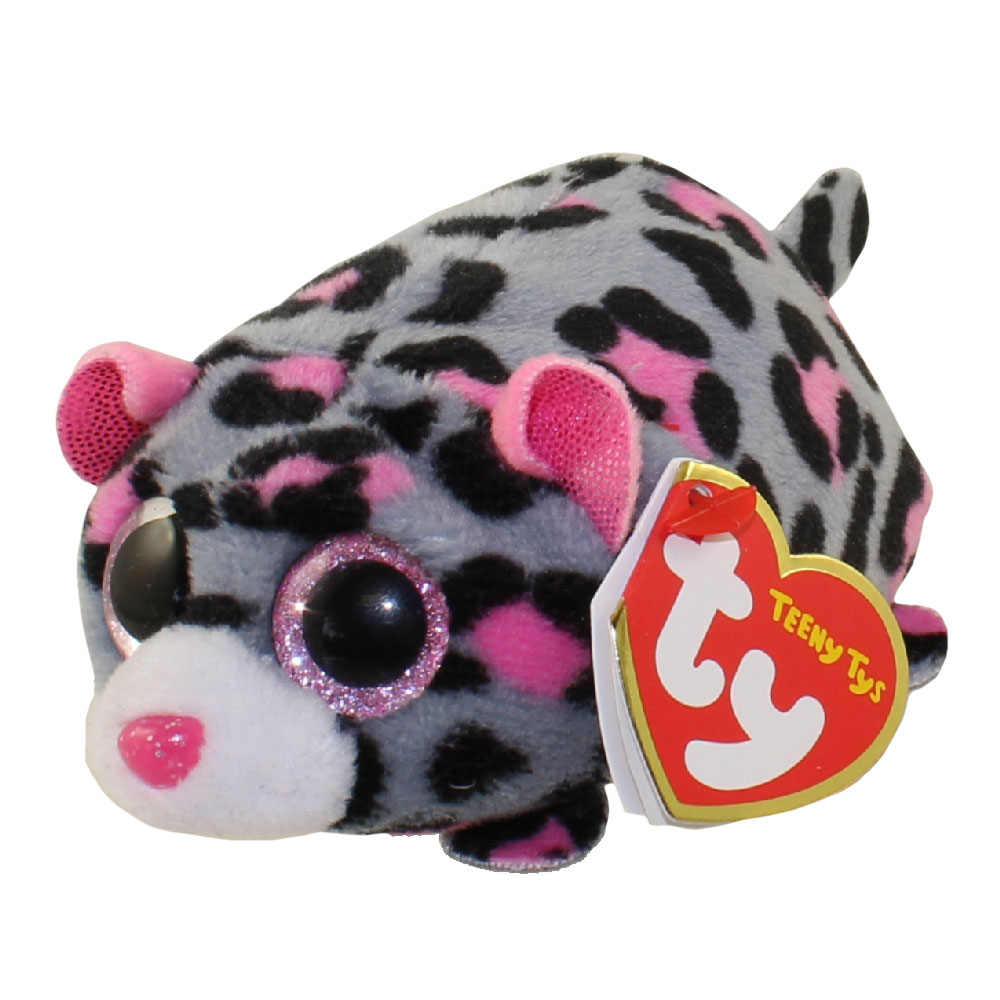 cdceac9f361 TY Beanie Boos - Teeny Tys Stackable Plush - MILES the Leopard (4 inch)