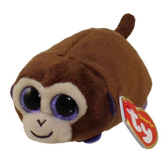 TY Beanie Boos - Teeny Tys Stackable Plush - MONKEY BOO the Monkey (4  inch)  BBToyStore.com - Toys d5e60b74d50