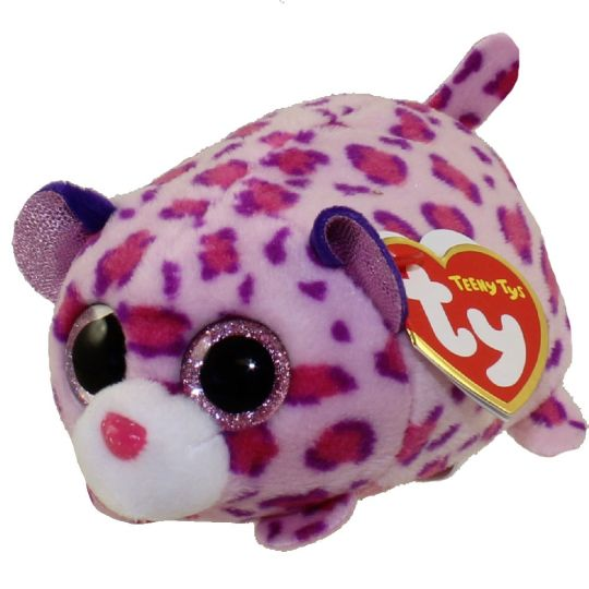 Ty Beanie Boos Teeny Tys Stackable Plush Olivia The Leopard 4
