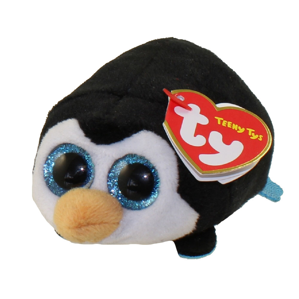 TY Beanie Boos - Teeny Tys Stackable Plush - POCKET the Penguin (4 inch)   BBToyStore.com - Toys 05cb22caacbb