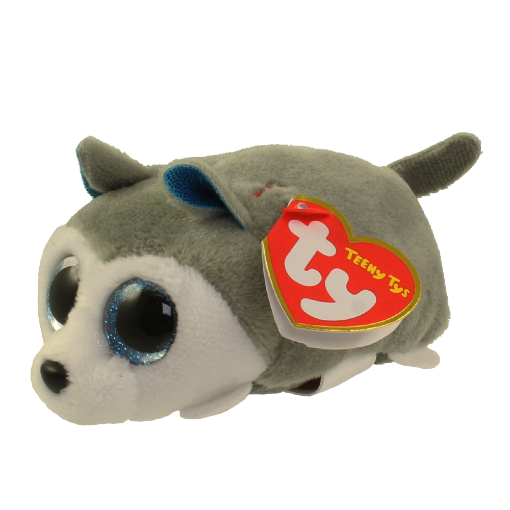 9f7576f3e73 TY Beanie Boos - Teeny Tys Stackable Plush - PRINCE the Husky Dog (4 inch)   BBToyStore.com - Toys