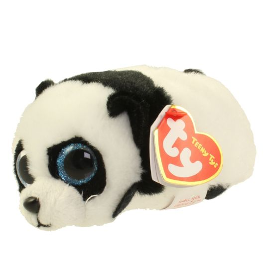6650d603fb0 TY Beanie Boos - Teeny Tys Stackable Plush - PUCK the Panda (4 inch)   BBToyStore.com - Toys