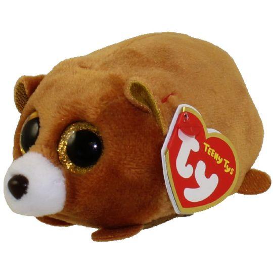 TY Beanie Boos - Teeny Tys Stackable Plush - WINDSOR the Bear (4 inch)   BBToyStore.com - Toys 9208aef65ec