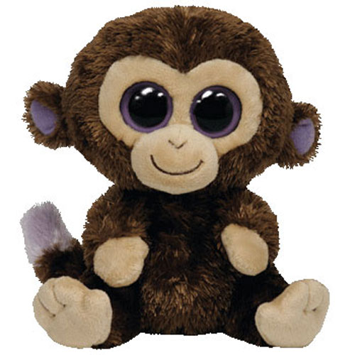 Ty beanie boos coconut the monkey solid eye color - Toutou a gros yeux ...