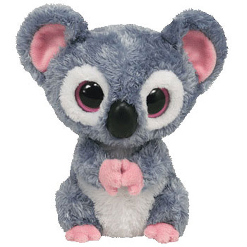 TY Beanie Boos - KOOKY the Koala (Solid Eye Color) (Regular Size - 6 inch)  Rare!  BBToyStore.com - Toys 6046e571cfd
