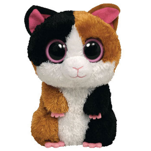 TY Beanie Boos - NIBBLES the Guinea Pig (Solid Eye Color) (Regular Size - 6  inch) Rare!  BBToyStore.com - Toys c292413b0d2