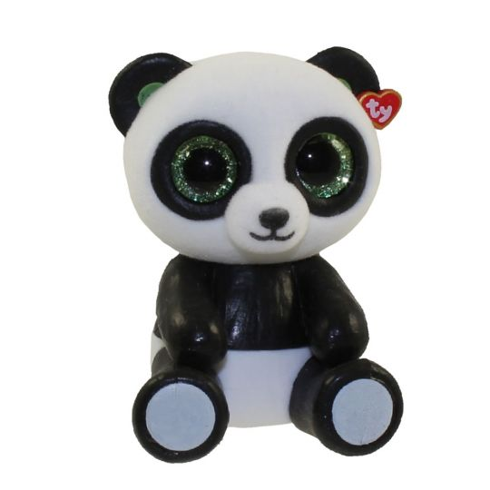TY Beanie Boos - Mini Boo Figures - BAMBOO the Panda Bear (2 inch)   BBToyStore.com - Toys 24ab826b17f