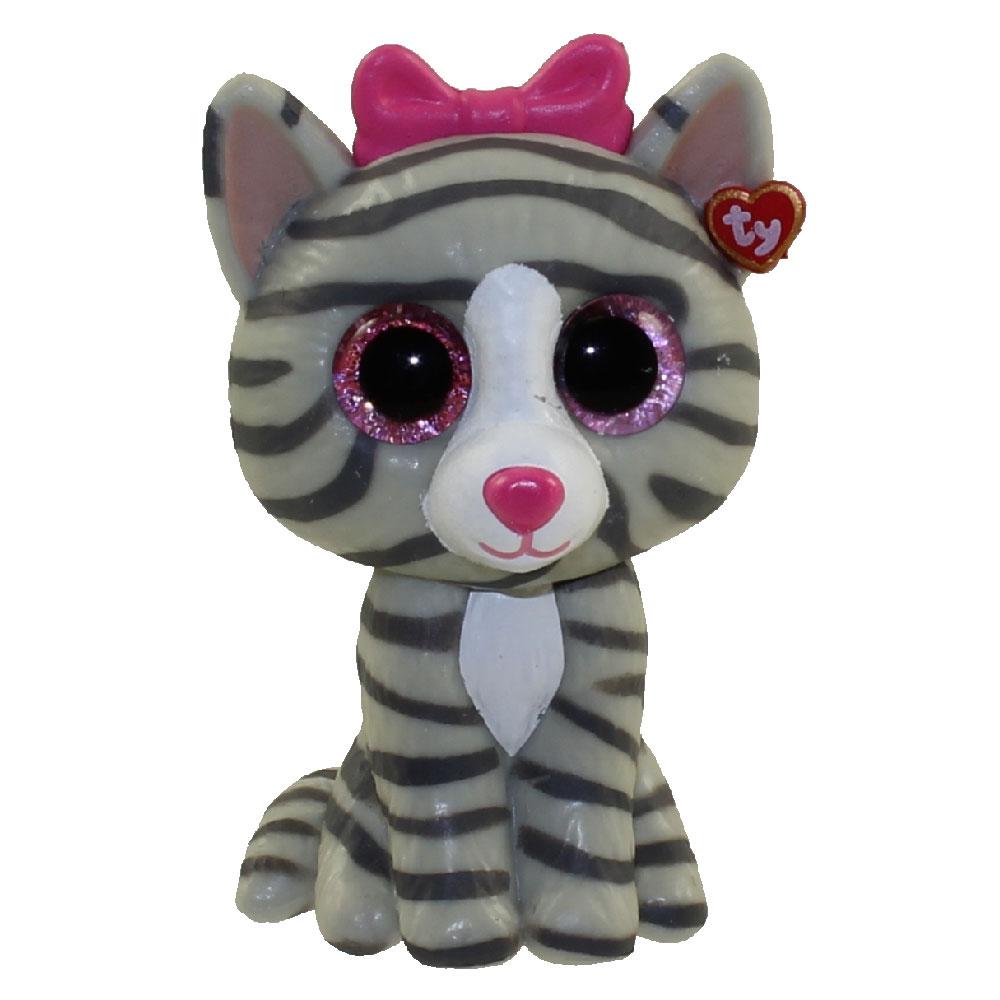 Ty Beanie Boos Mini Boo Figures Kiki The Grey Tabby
