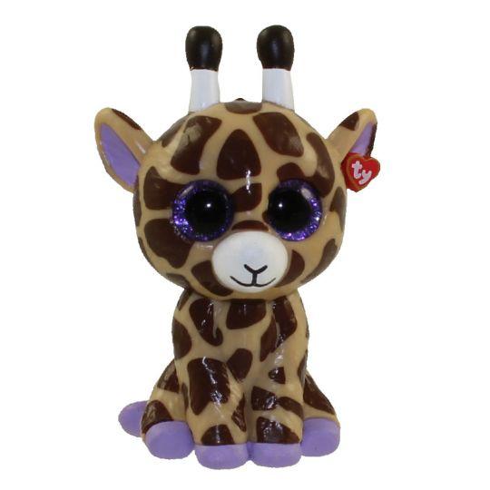 TY Beanie Boos - Mini Boo Figures - SAFARI the Giraffe (2 inch)   BBToyStore.com - Toys 668300a8f878