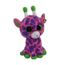 48898b41b2e TY Beanie Boos - Mini Boo Figures Series 2 - GILBERT the Pink   Purple  Giraffe