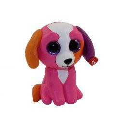 3fa86d6beb5 TY Beanie Boos - Mini Boo Figures Series 2 - PRECIOUS the Multicolored Dog ( 2