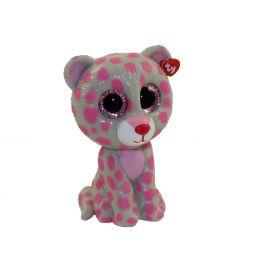TY Beanie Boos - Mini Boo Figures Series 2 - TASHA the Pink   Grey Leopard fec583248b04