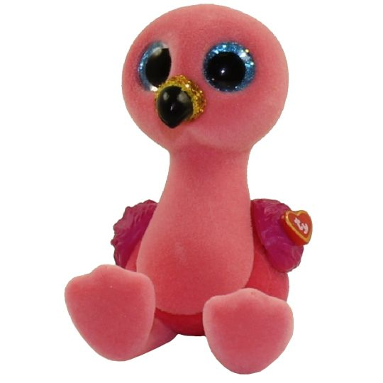 TY Beanie Boos - Mini Boo Figures Series 3 - GILDA the Flamingo (2 inch)   BBToyStore.com - Toys 2501f0ed7cf