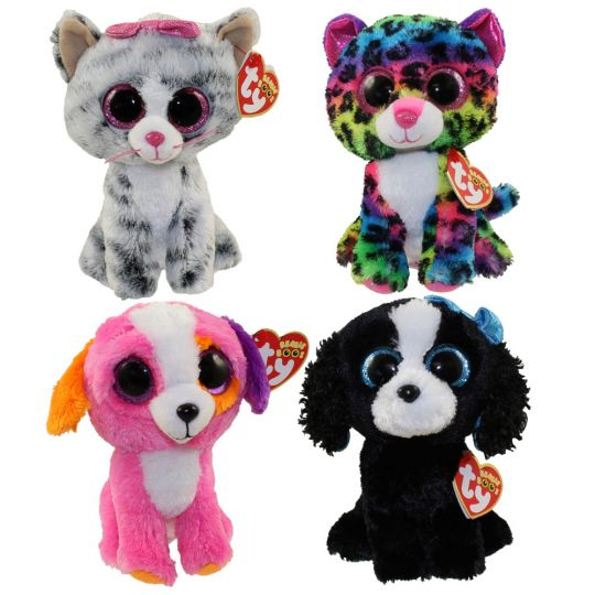 9c100f74591 TY Beanie Boos - SET of 4 Summer 2016 Releases (6 inch) (Dotty ...