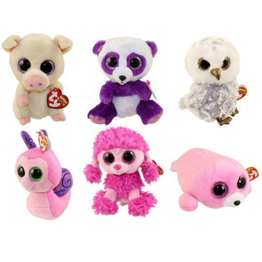 43cd507e18c TY Beanie Boos - SET of 6 Summer 2016 Releases (6 inch) (Pierre ...