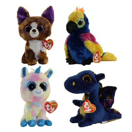 TY Beanie Boos - SET of 4 Winter 2017 Releases (6 inch) (Blitz ... a3381102debb