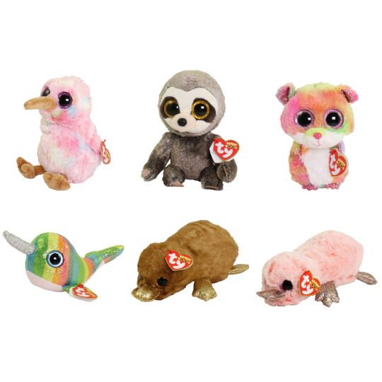 3c4feb351c3 TY Beanie Boos - SET of 6 Fall 2018 Release (6 inch) (Perry