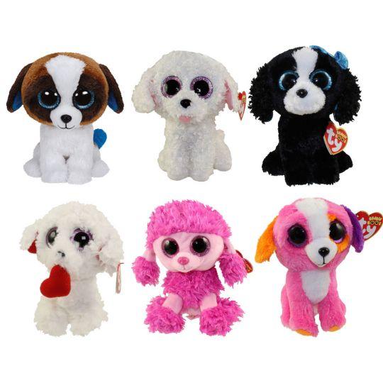 TY Beanie Boos - SET OF 6 DOGS (Duke a013cc5ac4b0