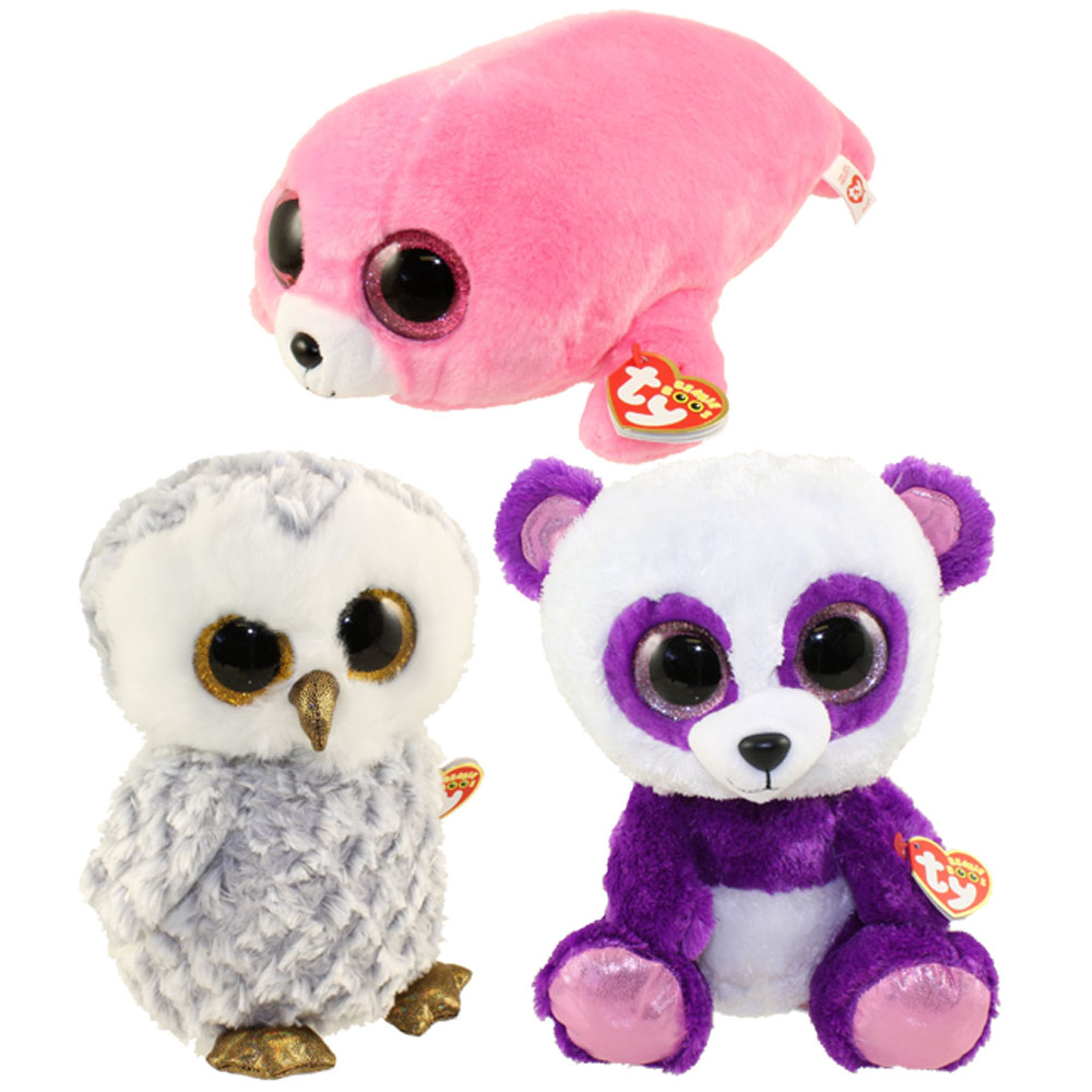 082b4274323 TY Beanie Boos - SET of 3 Summer 2016 Releases (Medium - 9 inch) (Pierre