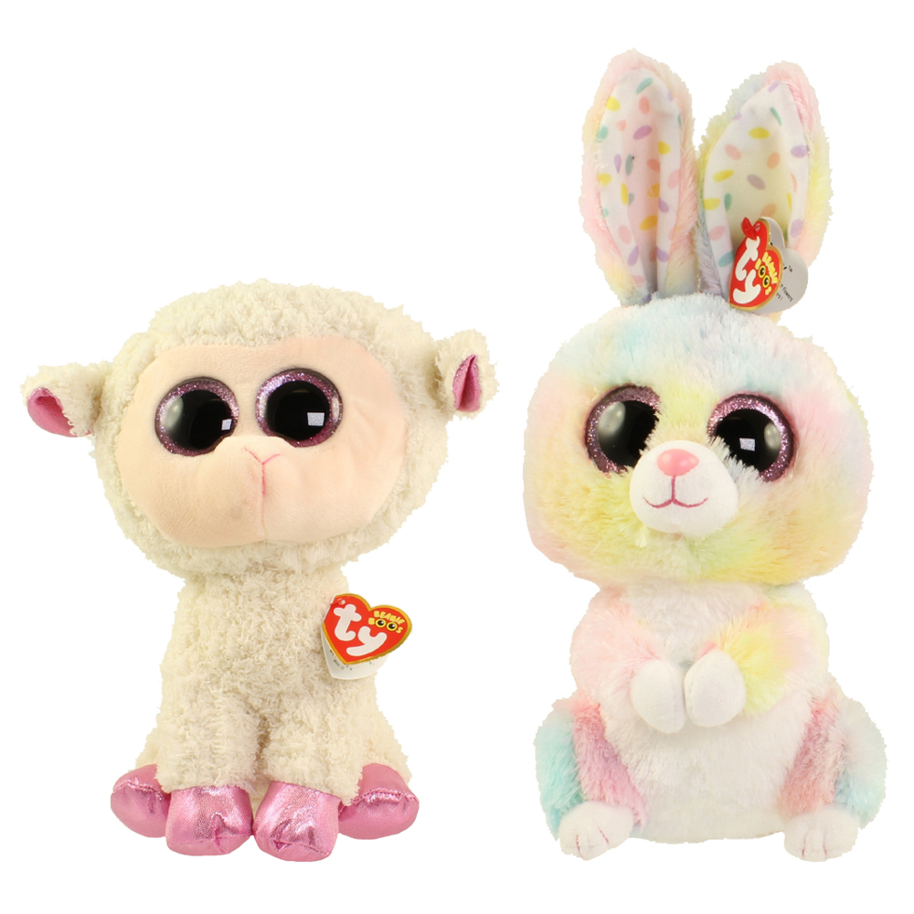 3aafb53265b TY Beanie Boos - SET of 2 Easter Releases (Medium - 9 inch) (