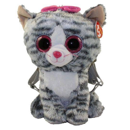 Ty Gear Backpack Kiki The Grey Cat 13 Inch Bbtoystore Com