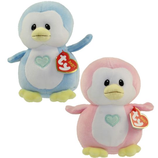 Baby TY - SET of 2 PENGUINS (Twinkles   Penny) (Regular Size - 7 inch)   BBToyStore.com - Toys eb32e8f335cd