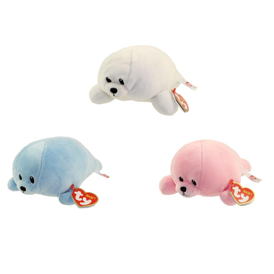 Baby TY - SET of 3 SEALS (Doodles 4e31ee97d996