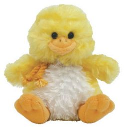 EGGBERT the Chick TY Basket Beanie Baby Toy