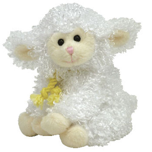 dbed58659e3 TY Basket Beanie Baby - FLOXY the Lamb (4.5 inch)