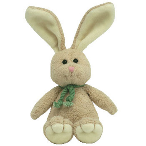 TY Basket Beanie Baby - HOPSON the Bunny (5.5 inch)  BBToyStore.com - Toys 9e7a3f381a0
