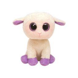 4b5a4b9dda3 TY Basket Beanie Baby - LILY the Cream Lamb (3.5 inch)