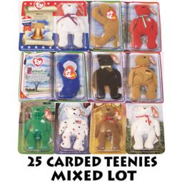 7385bae336d TY McDonald s Teenie Beanies - Mixed Lot of 25 Carded Teenies (Sealed on  Cards)